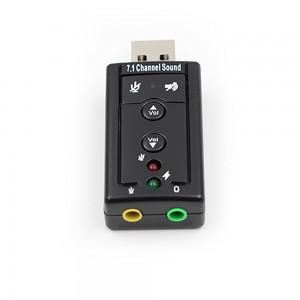 7.1 канала Внешний USB звуковая карта USB Jack