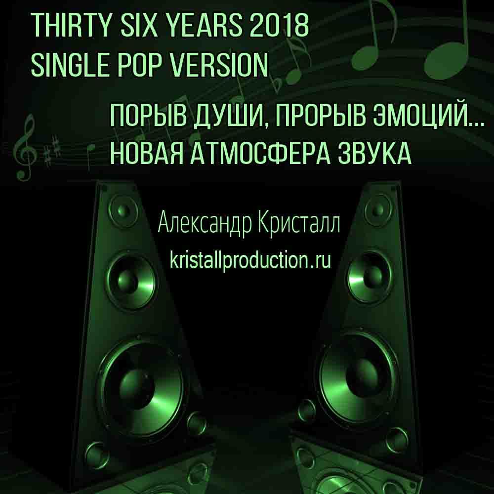 Thirty Six Yers 2018 English Jingle Version